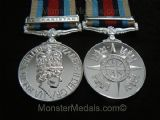 FULL SIZE OPERATIONAL SERVICE MEDAL AFGHANISTAN (OSM) REPLACEMENT COPY